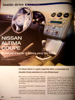 AIV's Inside Drive - Nissan Altima Coupe