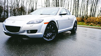 RX-8 with RAYS Engineering Wheels
